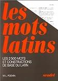 Les mots latins