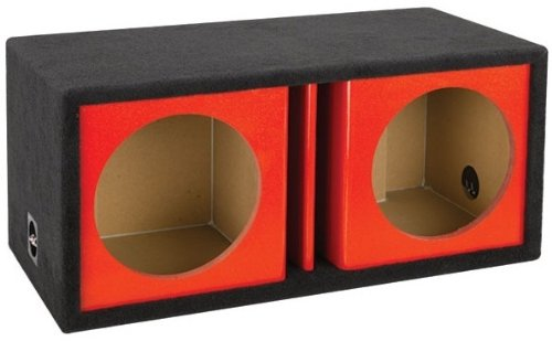 Atrend Zv12D Red 12 Inch Chambered Enclosure
