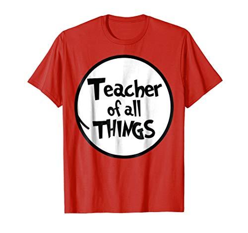 Teacher of All Things Funny Tshirt