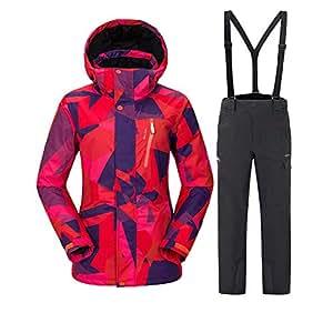 Amazon.com : Gski Women's Ski Jacket Pants Warm, Over
