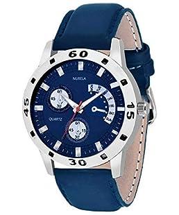 NUBELA Analog Blue Dial Men's Watch-205