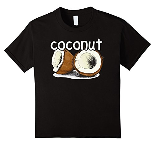 Pair Halloween Costumes Best Friends Girls (Kids Lime and Coconut Matching Couples Halloween Costume Tshirts 8 Black)