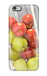 ReidGiles Perfect Tpu Case For Iphone 6 Plus/ Anti-scratch Protector Case (glass Vessel Centerpiece Filled With Apples)