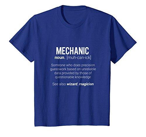 Funny Mechanic Meaning T-Shirt - Mechanic Noun Definition