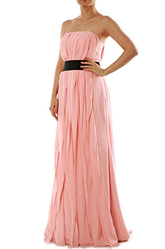 Vestito Blush MACloth ad linea Pink Donna a maniche Senza dTwRqT