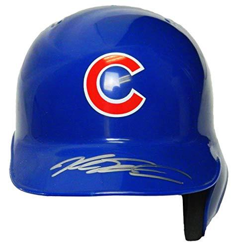 Mlb Mini Riddell Batting Helmet - Kyle Schwarber Signed Chicago Cubs Riddell Mini Batting Helmet - Autographed MLB Helmets