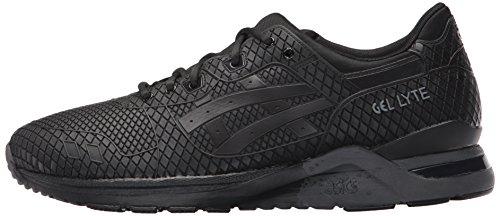 ASICS Men's Gel-Lyte Evo Fashion Sneaker, Black/Black, 10