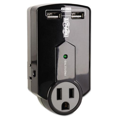 TRPSK120USB - Travel Surge with 2.1 Amp USB Charging Ports