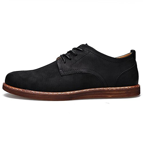 Hommes COOLCEPT Black Hommes Decontracte Brogue Chaussures COOLCEPT Black Decontracte Hommes Lacets Lacets A A COOLCEPT Brogue Chaussures Decontracte 4qwnAxvP