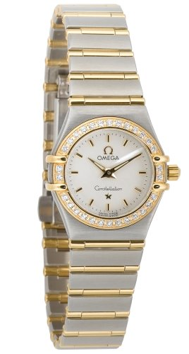 Omega Women's 1267.70.00 Constellation Quartz Mini Two-Tone Diamond Watch