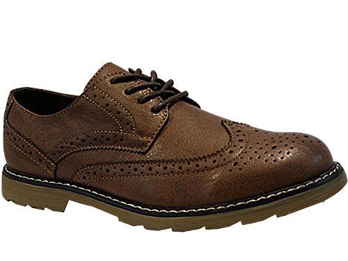Foster Footwear - Brogue Ragazzi uomo Brown