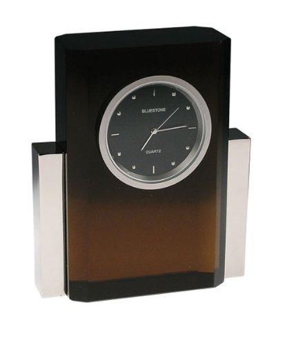 62 Black Crystal Clock (Bluestone Crystal Clock)
