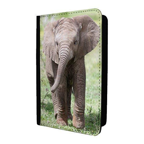 S2036 Accessories4life Cute Baby Elephant PU Leather Travel Passport Holder Protector Cover Wallet Case Cover