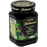 Dickinson's Pure Seedless Black Raspberry Preserves, 10-Ounce (Pack of 6)