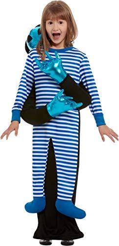 Smiffys Alien Abduction Costume Blue Small/Medium Age ()