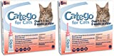 Catego 2 Pack of Flea and Tick Control for Cats Over 1.5 Pounds, 6 Doses Per Pack