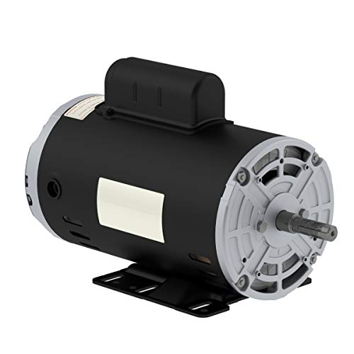 NEW 3HP Electric Motor for air Compressor 3455 RPM 5/8' Shaft 14.7 AMP 56 FRAME Heavy Duty