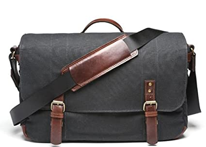 cfca98cb5ce Image Unavailable. Image not available for. Color: ONA - The Union Street - Camera  Messenger Bag - Black ...
