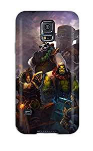 New Arrival Premium S5 Case Cover For Galaxy (world Of Warcraft)