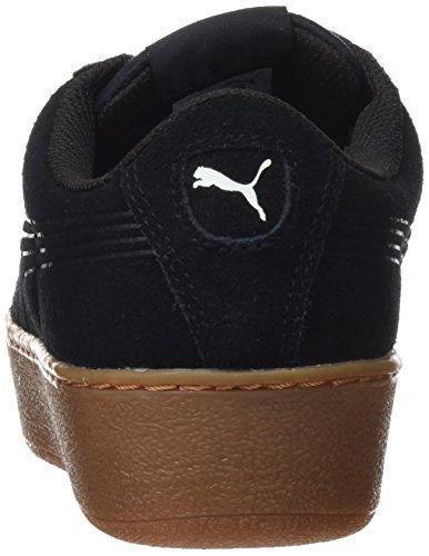 Donna Vikky Black Sneaker Puma Platform Nero Puma Bold Black Ribbon puma COXSXqw