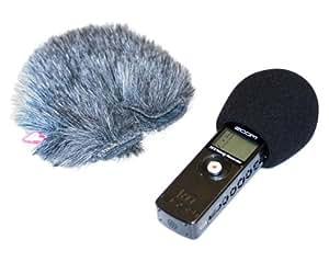 Rycote - Fundas anti-viento de gomaespuma y de pelo para micrófono de grabadora portátil
