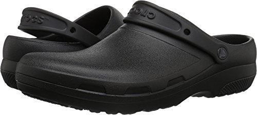 Crocs Mens and Womens Specialist II Clog, Black 13 M US 11 M US from Crocs