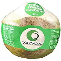 Cocoholic Half Peeled Fresh Tender Coconut, 1 Piece