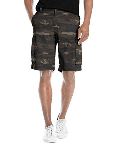 - Agile Mens Super Comfy Flex Waist Cargo Shorts ASH45174 Camouflage 38