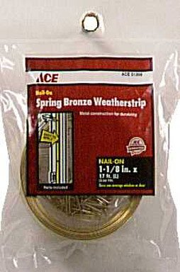 Bronze Door Jamb Weatherstrip by Dennis
