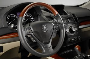 Acura RDX 2013 Wood Interior Trim Genuine OEM 08Z03-TX4-210A