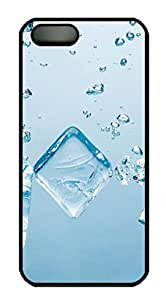 Blue Ice Block Protective Hard Plastic Back Fits Cover Case For Htc One M9 Cover -1122030