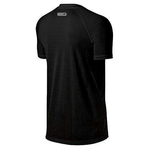 Asics Men's Fujitrail Graphic Top, Performance Black /