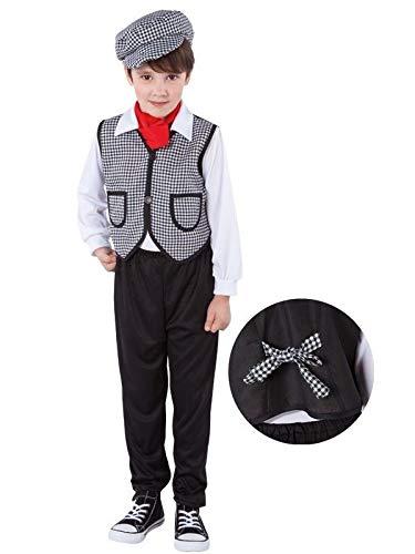 DISBACANAL Disfraz Chulapo para niño - Único, 5-7 años ...