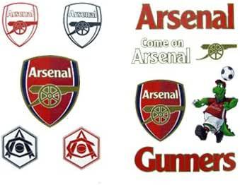 Amazon Com Arsenal F C Arsenal Fc Tattoo Pack Football Gifts Clothing