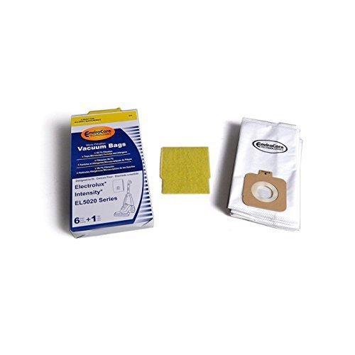 (Electrolux Intensity Vacuum Cleaner 6 Bags & 1 Pre Motor Filter for EL5020 EL206 EL5020A EL016 972B #)