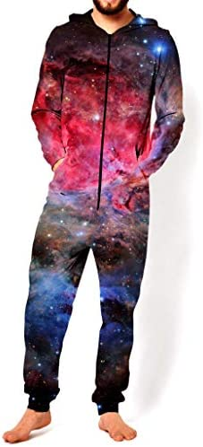 RageOn Let`s Rage Heart of The Universe Premium All Over Print Jumpsuit