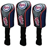 Minnesota Twins 3 Pack Mesh Longneck Headcover Set