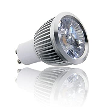 Affiniti LED Bombilla LED GU10 6W Blanco Cálido Atenuable ALT-S01GU10-6-WWD: Amazon.es: Electrónica