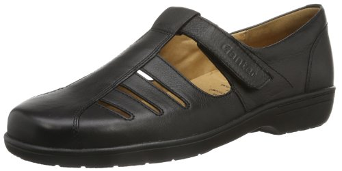 Ganter Anke Weite G Ladies Slipper Grey (nero 0100)