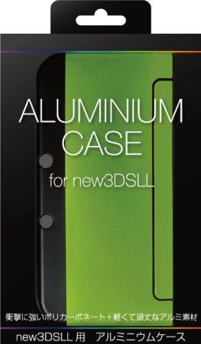 New3DSLL用 軽量アルミニウムケース ライム ALG-N3LALL