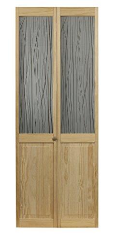 ds Half Glass Bifold Interior Wood Door, 32
