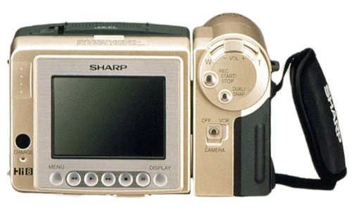 Sharp VL AH60U Camcorder Discontinued Manufacturer