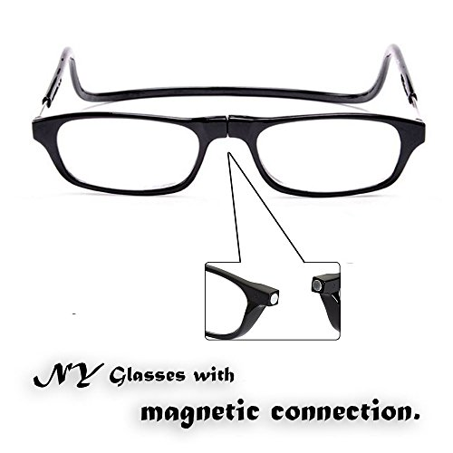 Reading Glasses Hangs around neck snaps closed Adjustable Front Connector BEST REPLACEMENT FOR YOUR READING GLASSES - Lose Never Your Glasses Again