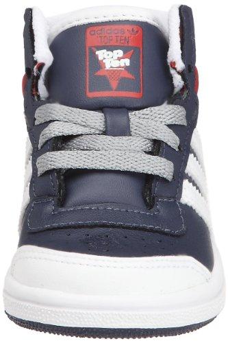 Adidas 0 bleu Passi Bimbi Hi Top I Blu Scarpine g63355 24 Ten Primi Unisex Originals gSvrqwg