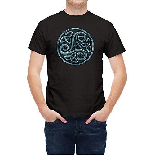 T-shirt Celtic Knot Mystic Symbol Black XL - Mystic Knot Symbol