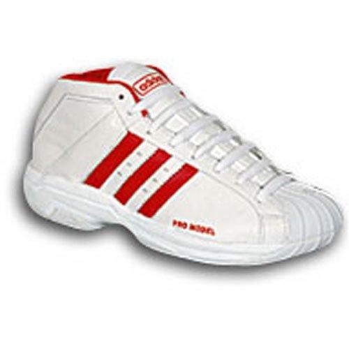 UPC 098096935238, adidas Men's Promodel 2G ( sz. 07.5, White/Red )