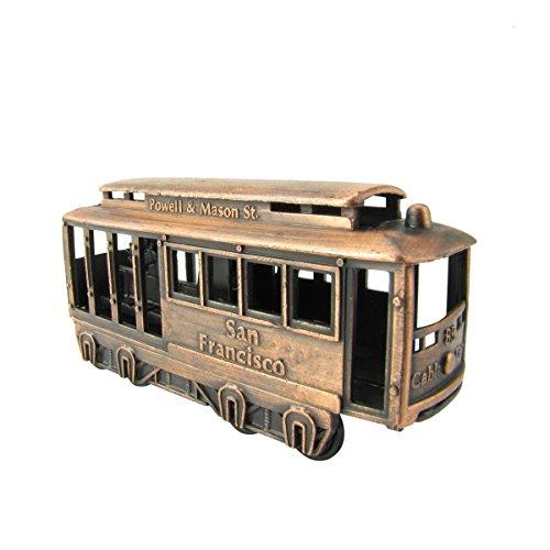 1:48 Scale O Gauge Model Train Accessory Mini Trolley/Cable Car Pencil - Powell Sf St