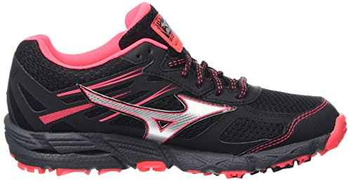 silver Zapatillas Negro Kien black diva Pink Mizuno De Wave Mujer Running tx 3 Trail G Para C1xxOqFHw