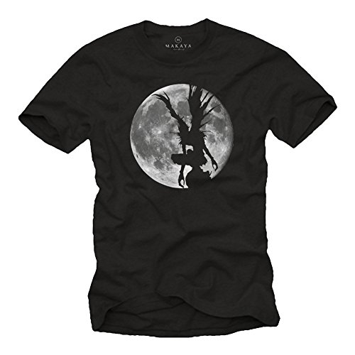 MAKAYA Ryuk Shinigami - Death Note Manga Black Edition T-Shirt L