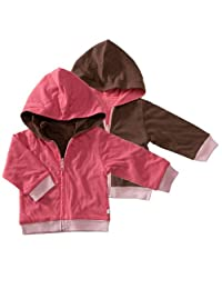 Babysoy Reversible Hoodie, Blossom, 12-24 months